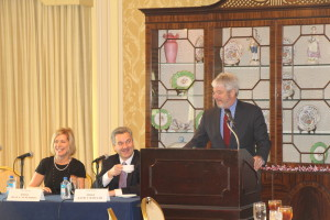 Judicial Panel at 2013-12-11 CATA Luncheon featuring Michael P. Donnelly, Joan C. Synenberg, and David T. Matia, Jr.